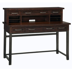 Cabin Creek Executive Desk and Hutch