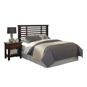 Cabin Creek King and California King Headboard and Night Stand