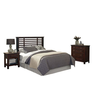 Cabin Creek King and California King Headboard, Night Stand, and Chest