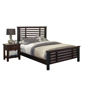 Cabin Creek King Bed and Night Stand