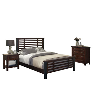 Cabin Creek King Bed, Night Stand, and Chest