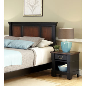 Aspen King and California King Headboard and Night Stand