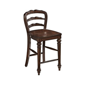 Colonial Classic Dark Cherry Counter Height Stool