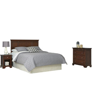 Chesapeake Cherry Queen Headboard, Night Stand and Chest