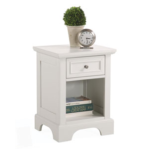 Naples White Night Stand