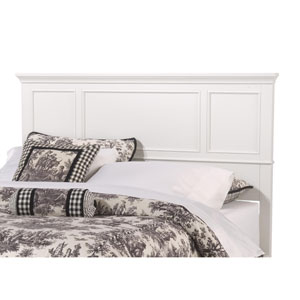Naples White Queen Headboard