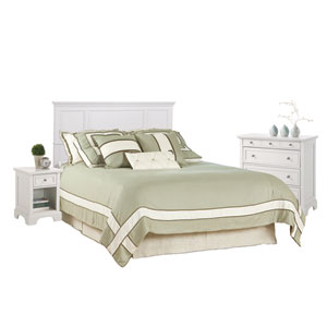 Naples White Queen Bedroom Set