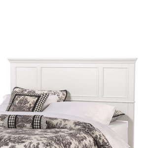 Naples White 52-Inch King Headboard
