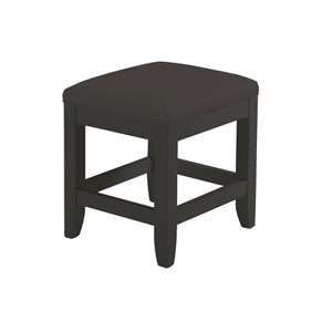 Bedford Black Vanity Bench