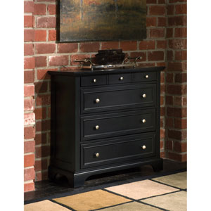 Bedford Black Drawer Chest