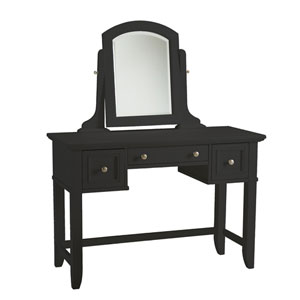 Bedford Black Vanity Table