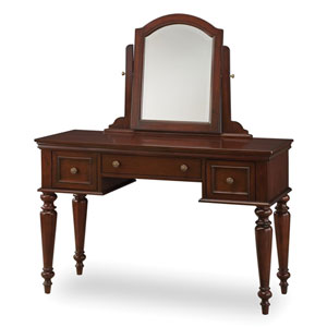 Lafayette Cherry Vanity Table and Mirror