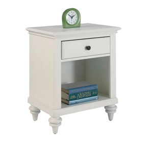 Bermuda Brushed White Night Stand