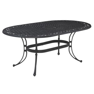Biscayne Oval Outdoor Dining Table