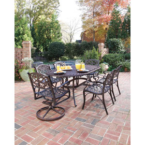 Biscayne Bronze Seven-Piece Dining Set