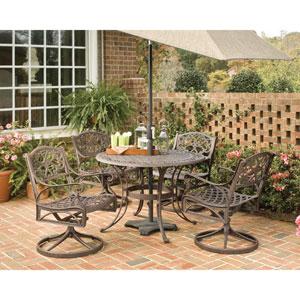 Biscayne Bronze Five-Piece Dining Set