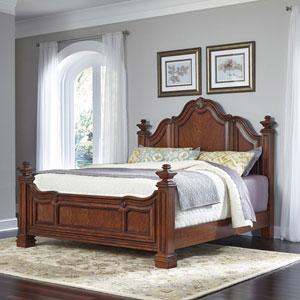 Santiago Cognac King Bed