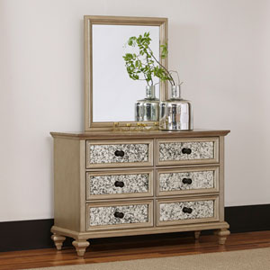 Visions Dresser and Mirror