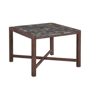 Morocco Slate 43.5-Inch Square Outdoor Dining Table
