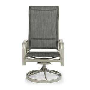 South Beach Sling Swivel Rocking Chair