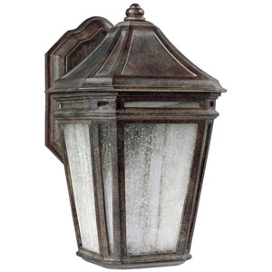 Londontowne Weathered Chestnut One-Light 16-Inch Integrated LED Outdoor Wall Sconce
