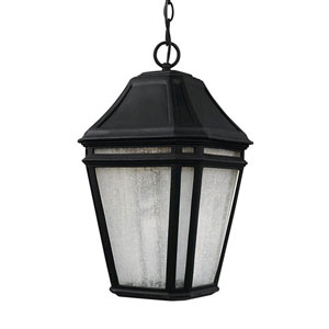 Londontowne Black One-Light 10-Inch Wide Integrated LED Outdoor Pendant