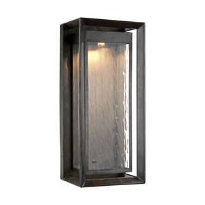 Urbandale Antique Bronze 23-Inch LED Outdoor Wall Sconce