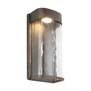 Bennie Antique Bronze 12-Inch LED Outdoor Wall Sconce