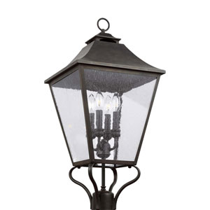 Galena Sable Four-Light Post Mount