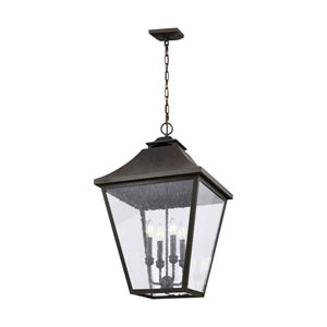 Galena 29-Inch Sable Four-Light Outdoor Pendant