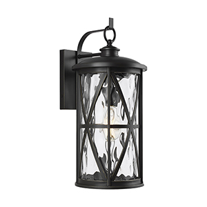 Millbrooke Antique Bronze One-Light 10-Inch Outdoor Wall Sconce