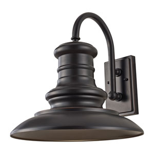 Redding Station Restoration Bronze 15-Inch LED Outdoor Wall Sconce