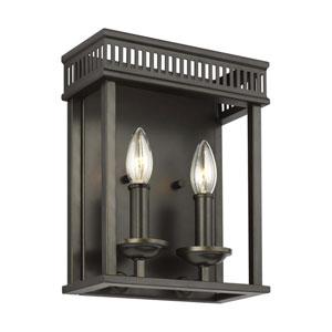 Woodruff Antique Bronze Two-Light ADA Bath Vanity