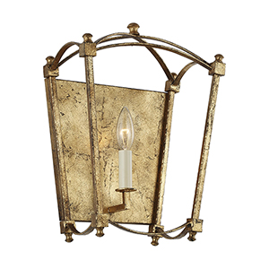 Thayer Antique Gold One-Light Wall Sconce