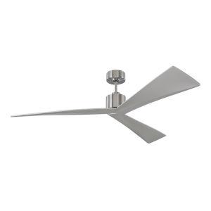 Adler Brushed Steel 60-Inch Ceiling Fan
