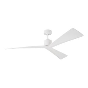 Adler Matte White 60-Inch Ceiling Fan