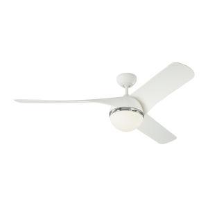 Akova Matte White 56-Inch Energy Star LED Ceiling Fan