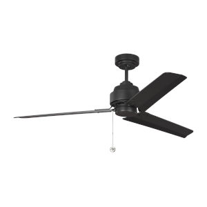 Arcade Midnight Black 54-Inch Ceiling Fan
