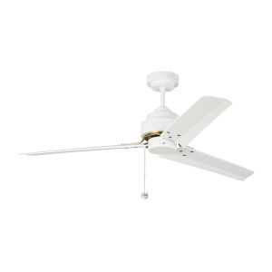 Arcade Matte White 54-Inch Ceiling Fan