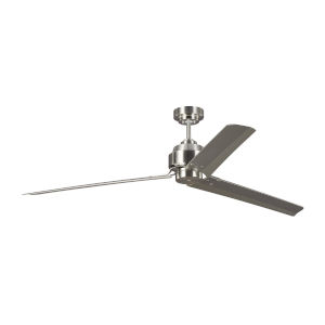 Arcade Brushed Steel 68-Inch Ceiling Fan