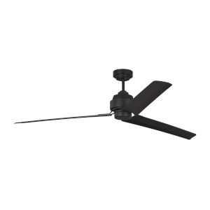 Arcade Midnight Black 68-Inch Ceiling Fan