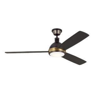 Hicks Deep Bronze 60-Inch DC Energy Star LED Ceiling Fan