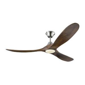 Maverick Brushed Steel 60-Inch LED Ceiling Fan