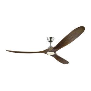 Maverick Brushed Steel 70-Inch LED Ceiling Fan