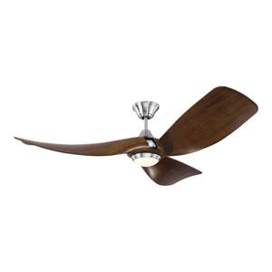 Melody American Walnut 56-Inch LED Ceiling Fan