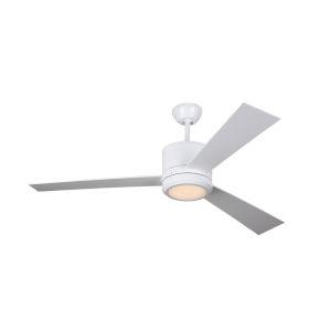Vision Matte White 52-Inch LED Ceiling Fan
