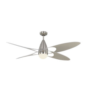 Butterfly Brushed Steel 54-Inch LED Ceiling Fan