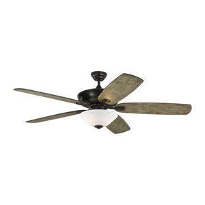 Colony Super Max Plus Aged Pewter 60-Inch Three-Light Ceiling Fan