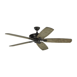 Colony Super Max Aged Pewter 60-Inch Ceiling Fan
