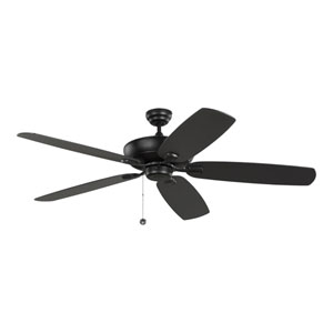 Colony Super Max Midnight Black 60-Inch Ceiling Fan